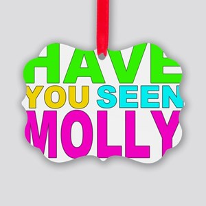 Have you Seen Molly Shirt Picture Ornament