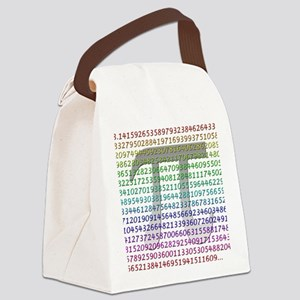 The Digits of Pi Canvas Lunch Bag