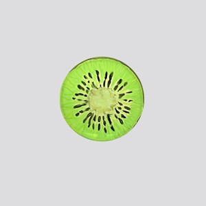 Kiwi Slice (full bleed) Mini Button