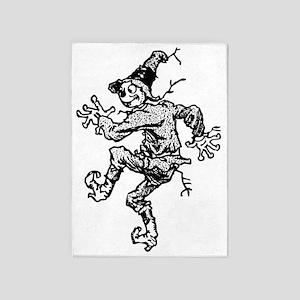 Scarecrow Skanking 5'x7'Area Rug