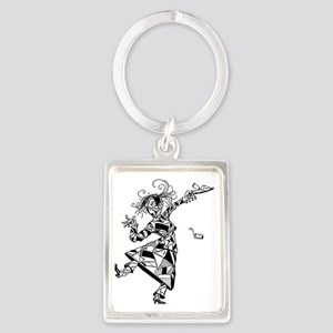Patchwork Girl of Oz Portrait Keychain