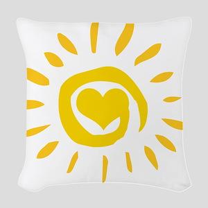 00110_Sun129 Woven Throw Pillow
