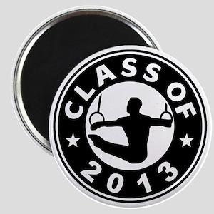 Class Of 2013 Gymnastics Magnet