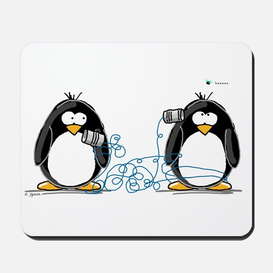Communication - Penguin Humor Mousepad