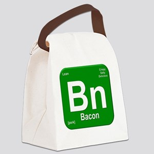 Bacon Element- Green Canvas Lunch Bag