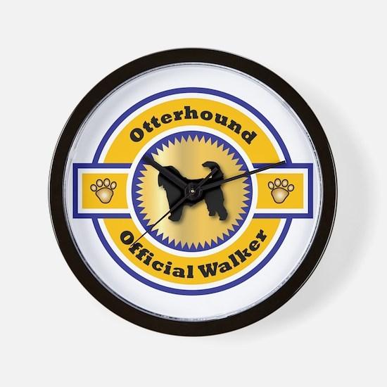 Otterhound Walker Wall Clock