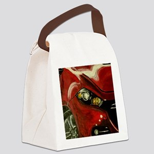 Vroom Canvas Lunch Bag
