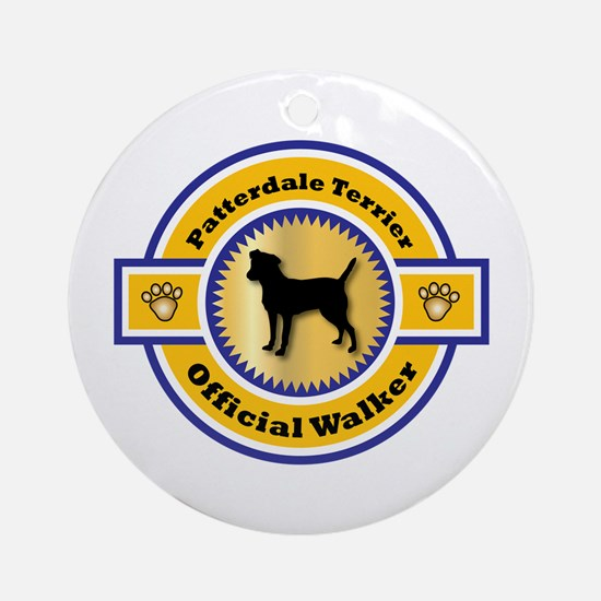Patterdale Walker Ornament (Round)