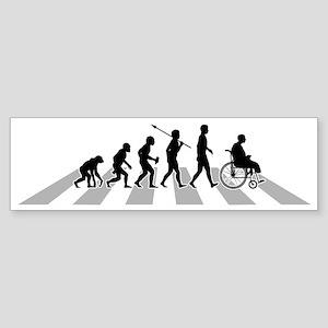 Crippled-B Sticker (Bumper)