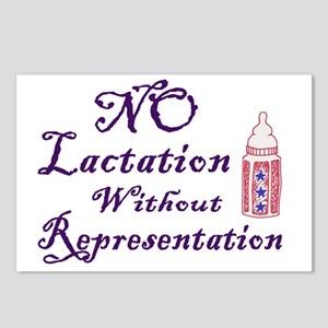 No Lactation Without Repr Postcards (Package of 8)