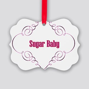 Sugar Baby Picture Ornament