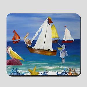 Pelican Beach Mousepad