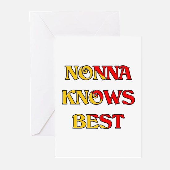 Nonna Knows Best Greeting Cards (Pk of 10)