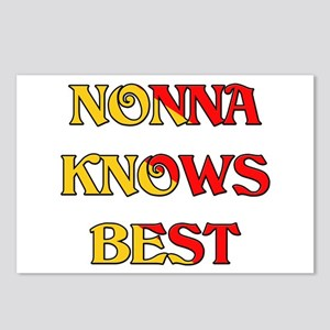 Nonna Knows Best Postcards (Package of 8)