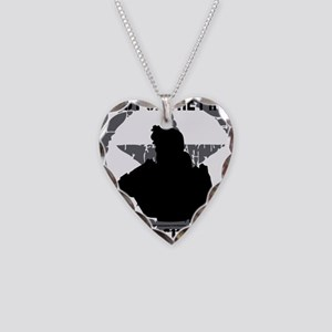 Soldier Code First of the Fir Necklace Heart Charm