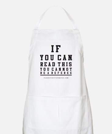 Blind Referee BBQ Apron