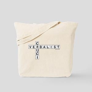 Cruciverbalist Tote Bag