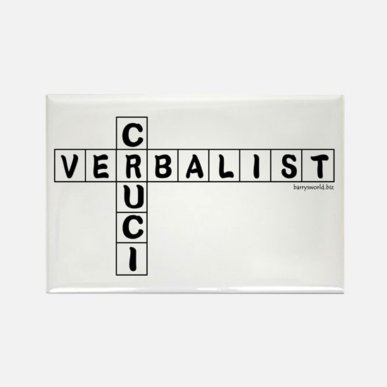 Cruciverbalist Rectangle Magnet (10 pack)