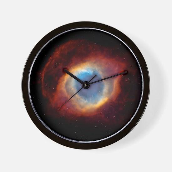 pillowhelixnebulangc Wall Clock