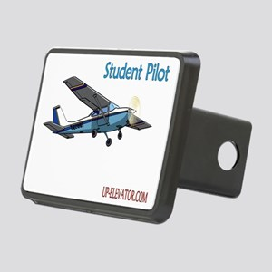 Student Pilot Rectangular Hitch Cover