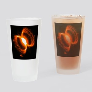 tilesoutherncrabnebula Drinking Glass