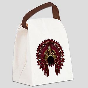 War Bonnet 09 Canvas Lunch Bag