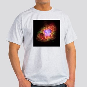 tilecrabnebulab Light T-Shirt