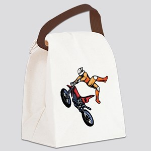 00007_Motorcross7 Canvas Lunch Bag