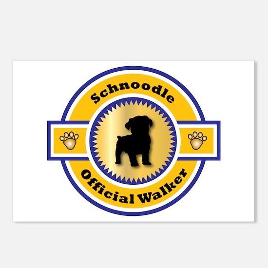 Schnoodle Walker Postcards (Package of 8)