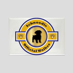 Schnoodle Walker Rectangle Magnet