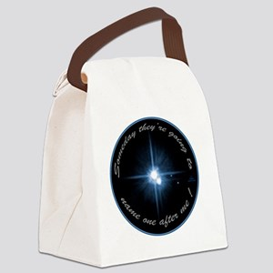 blktplutonameoneafterme Canvas Lunch Bag
