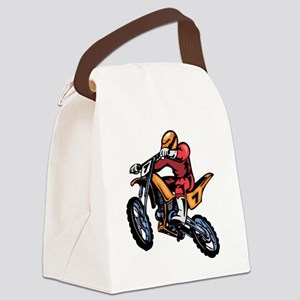 00001_Motorcross1 Canvas Lunch Bag