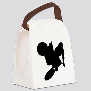 00002_Motorcross2 Canvas Lunch Bag