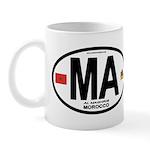 Morocco Euro-style Country Code Mug