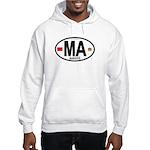 Morocco Euro-style Country Code Hooded Sweatshirt