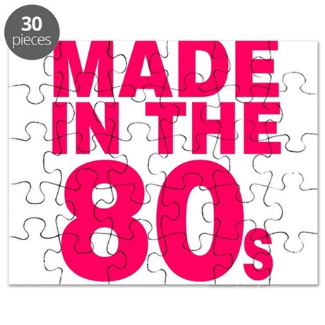 Made In The 80s Puzzle