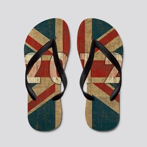 Vintage London Flip Flops