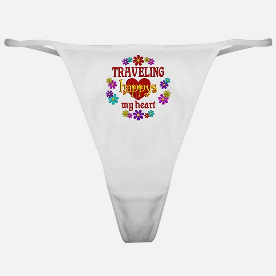 Traveling Happy Classic Thong