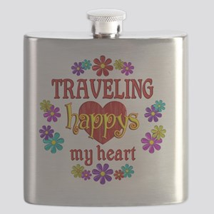 Traveling Happy Flask