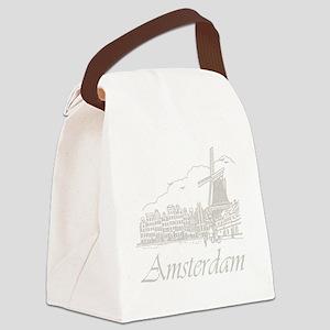 Vintage Amsterdam Canvas Lunch Bag