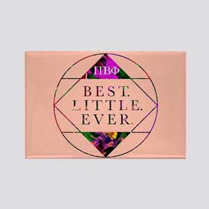 Pi Beta Phi Best Little Ever Rectangle Magnet