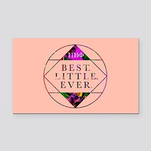 Pi Beta Phi Best Little Ever Rectangle Car Magnet
