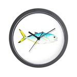 Blue Runner Wall Clock
