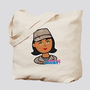 Woman Army Desert Camo Tote Bag