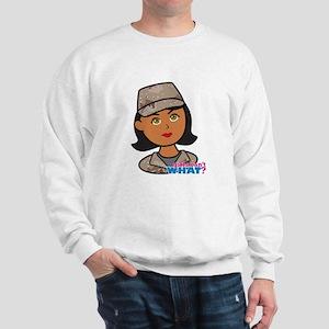 Woman Army Desert Camo Sweatshirt