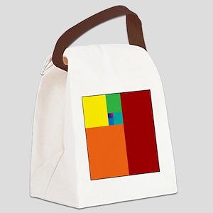 Fibonacci Sequence Canvas Lunch Bag