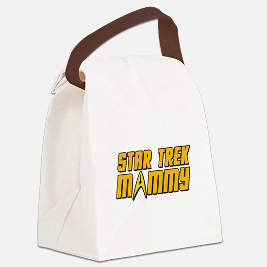 Star Trek Mommy Canvas Lunch Bag