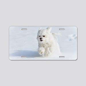 Snow Runner Aluminum License Plate