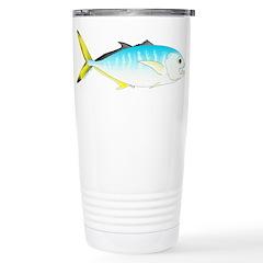 Blue Runner c Travel Mug