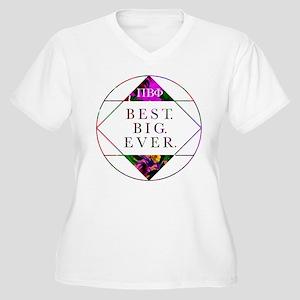 Pi Beta Phi Best Women's Plus Size V-Neck T-Shirt